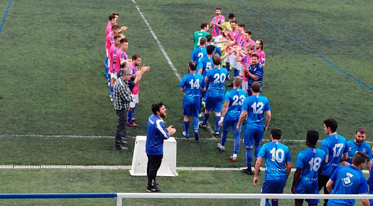 L'Avià cau contra el campió, el Calaf, que acaba la temporada imbatut (3-0)