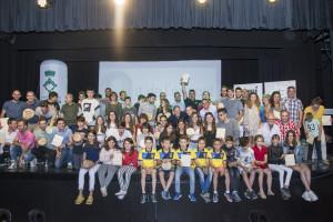 Ivan Camps i Clàudia Sabata, millors esportistes de la temporada al Berguedà