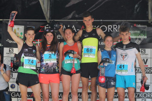 La berguedana Laia Gonfaus guanya la Junior Trail de la Zegama Aizkorri