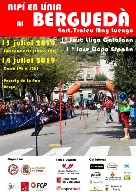 Cartell cursa 2019 Berga