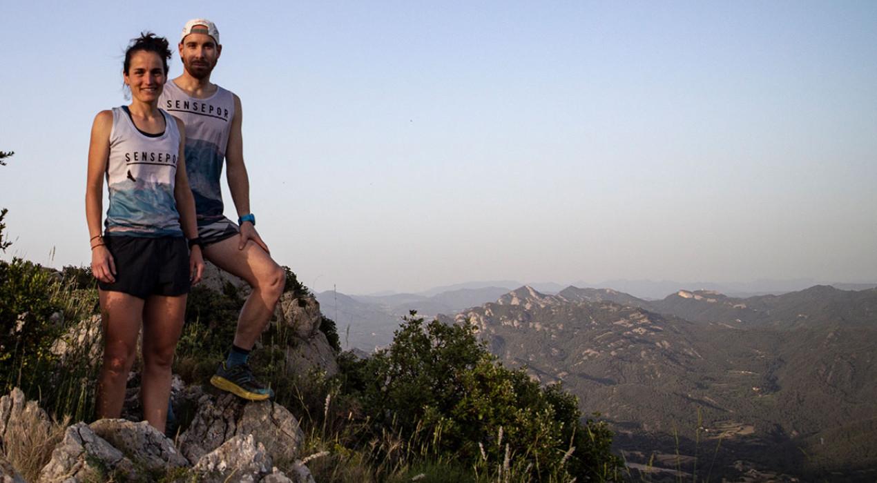 Judit Franch i Pau Ventura creuaran el Berguedà de punta a punta el 26 i 27 de juliol
