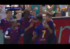 El golàs del berguedà Marc Bernal a la final de LaLiga Promises 2019