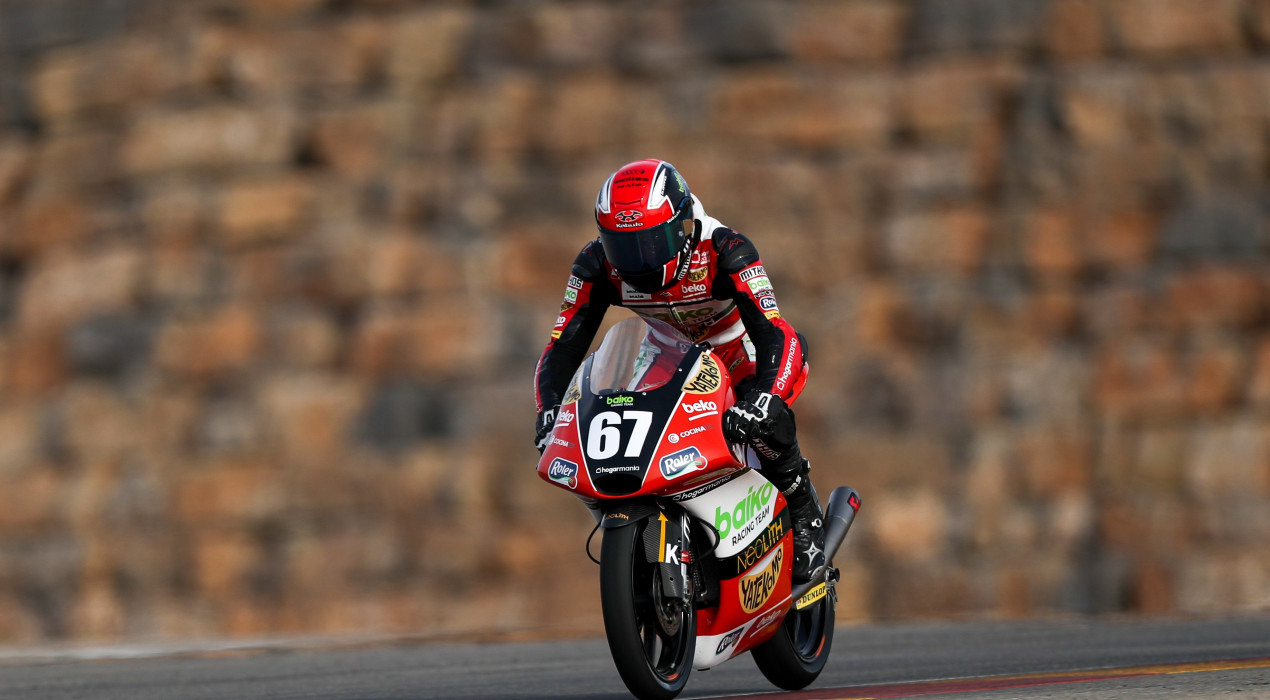 El casserrenc Gerard Riu debutarà al mundial de Moto3 aquest setembre