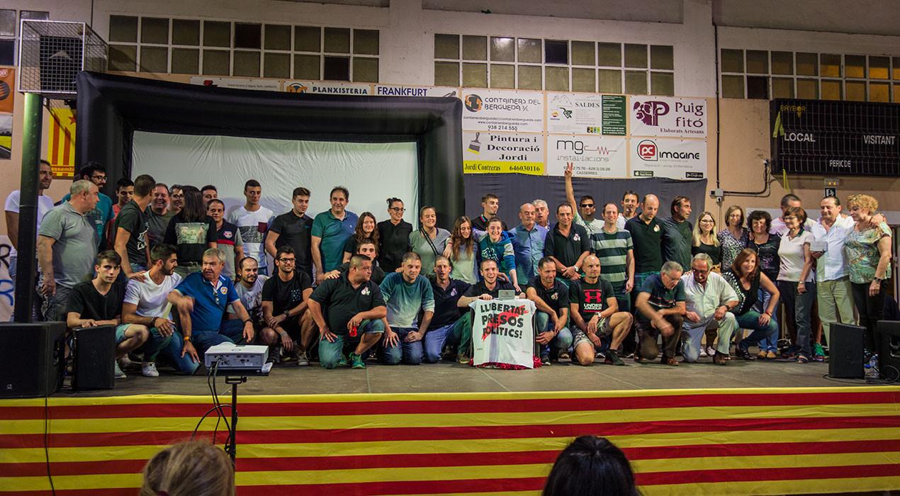 Casserres homenatja el seu teixit esportiu en una Festa de l'Esport que manté format malgrat el canvi de dates