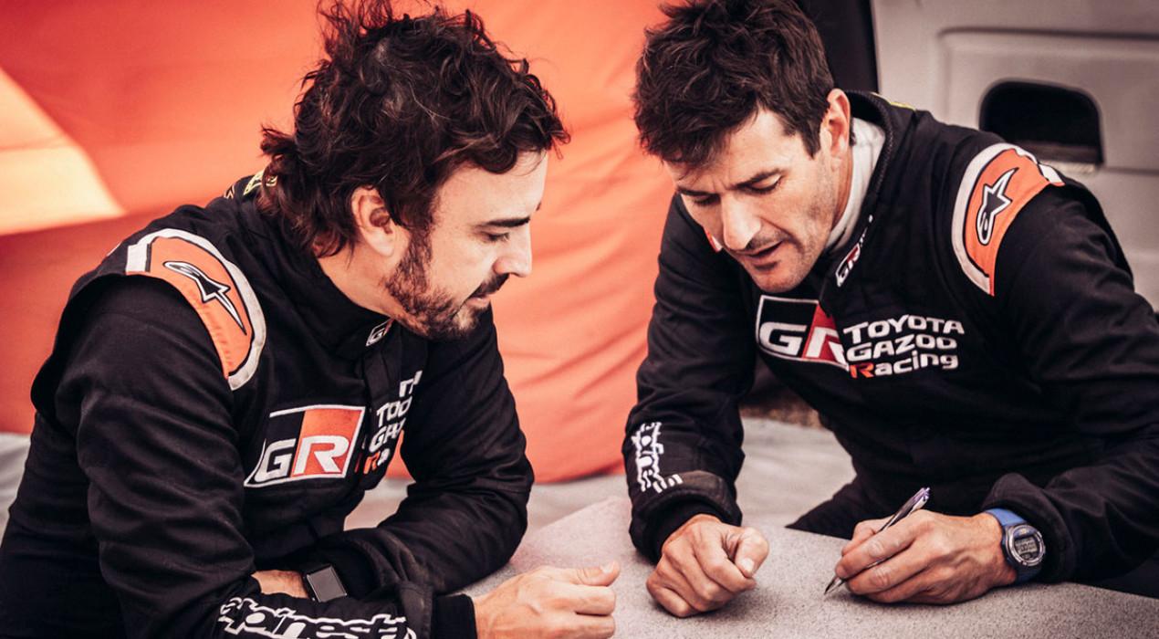 Toyota confirma la parella Fernando Alonso – Marc Coma pel Dakar 2020