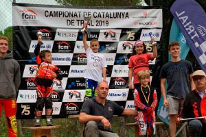 El gironellenc Grau Franch es proclama campió de Catalunya de trial aleví