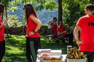 Gresolet: barretines, acudits i afició en un punt decisiu i amagat de l'Ultra Pirineu