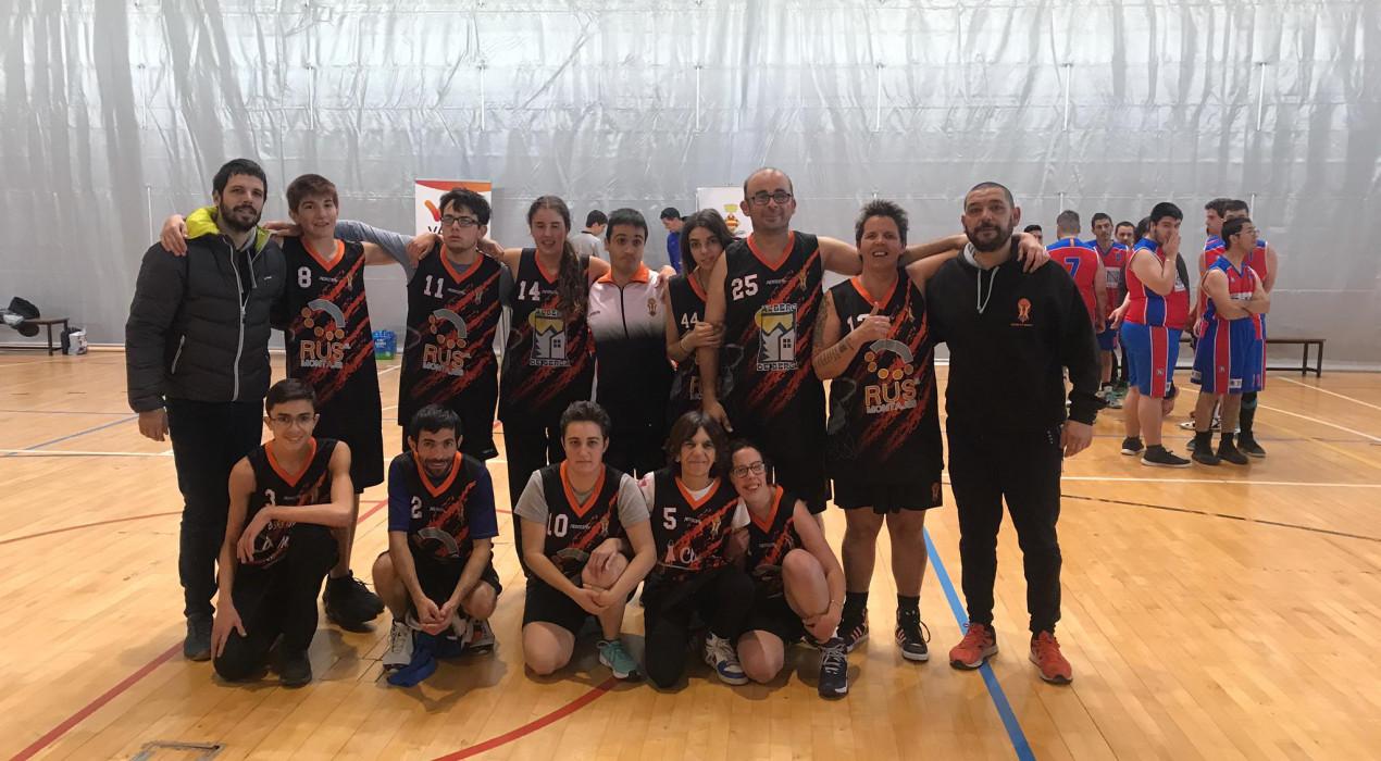 El bàsquet inclusiu de Berga segueix creixent: aquest any l'equip participa en una lliga territorial a Girona