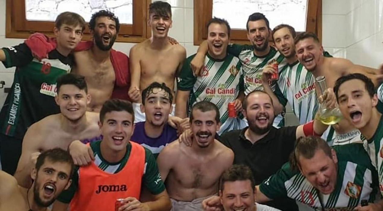 L'himne del CE Vilada, finalista a millor himne del futbol català segons el 'Tot gira'