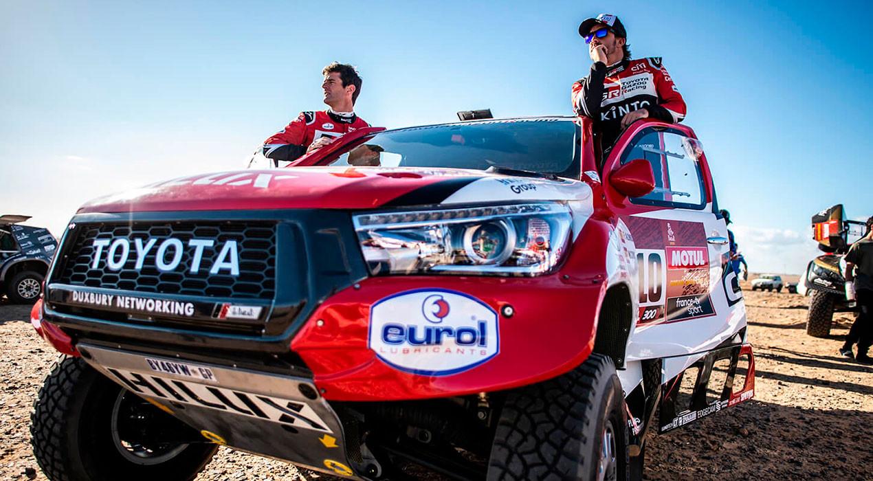 Fernando Alonso i Marc Coma acaben el seu primer Dakar junts en 13a posició i amb grans sensacions