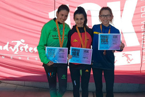Núria Cascante, medalla de bronze al campionat de Catalunya de 10km en ruta