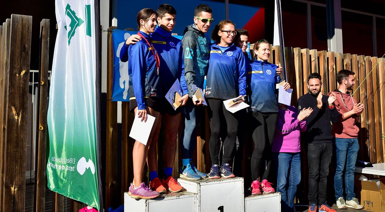Xavi Tomasa i Núria Cascante es proclamen campions del Berguedà de cros