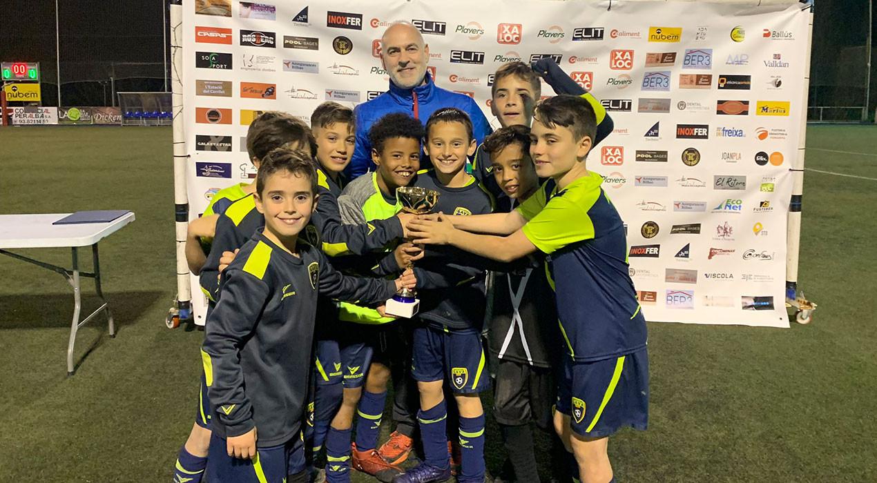L'Escola de Futbol de Gavà s'endú el torneig de futbol base amb el millor cartell de la història de Berga