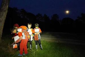 La lliga berguedana d'orientació incorpora una prova nocturna