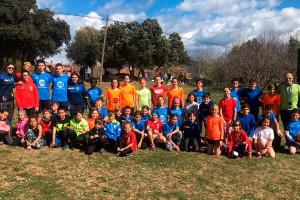Més de 50 infants del Berguedà participen diumenge a la final nacional de cros escolar