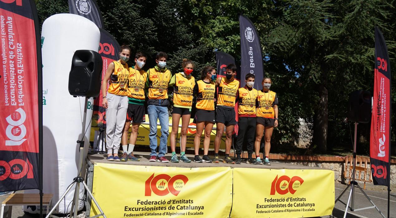 Nuria Gil i Josep Morales es proclamen campions de Catalunya de curses de muntanya a Berga