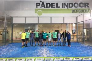 El Pàdel Indoor Berguedà assoleix un nou ascens de categoria i tindrà dos equips a Primera a partir del novembre