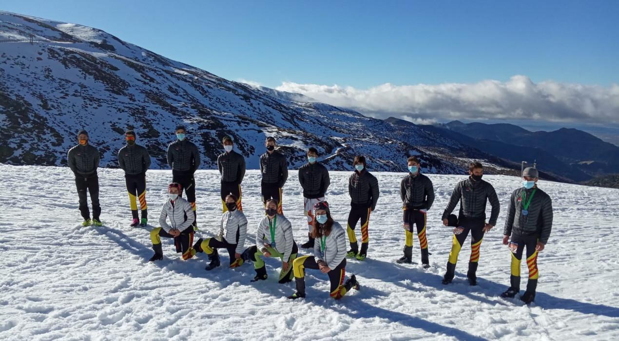 Maria Costa i Ot Ferrer es pengen l'or en la primera prova de la Copa d'Espanya d'esquí de muntanya