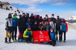 Pluja de medalles per als Mountain Runners del Berguedà als campionats d'Espanya d'esquí de muntanya