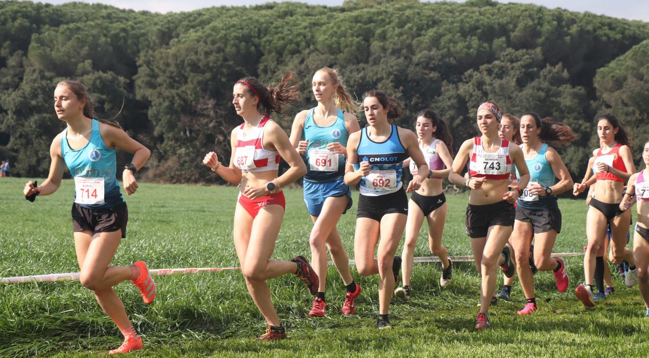 L'equip sub23 femení del JAB es proclama campió de Catalunya de cros