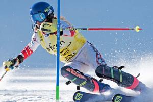 La berguedana Aura Coronado defensa el liderat de la Copa d'Espanya d'Esquí Alpí a Espot, aquest cap de setmana