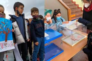 L'entitat Correcamins i l'Escola Sant Salvador impulsen la mini estació de trail de Cercs