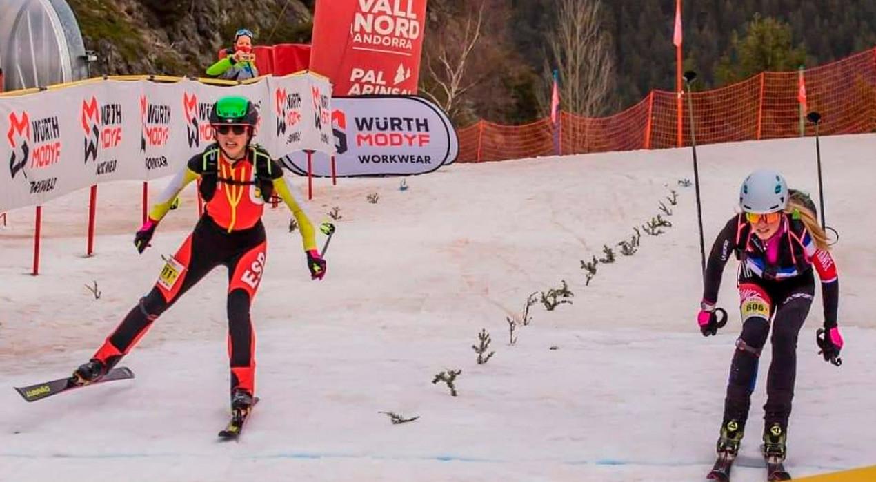 La berguedana Ares Torra es proclama subcampiona del món d'esquí de muntanya