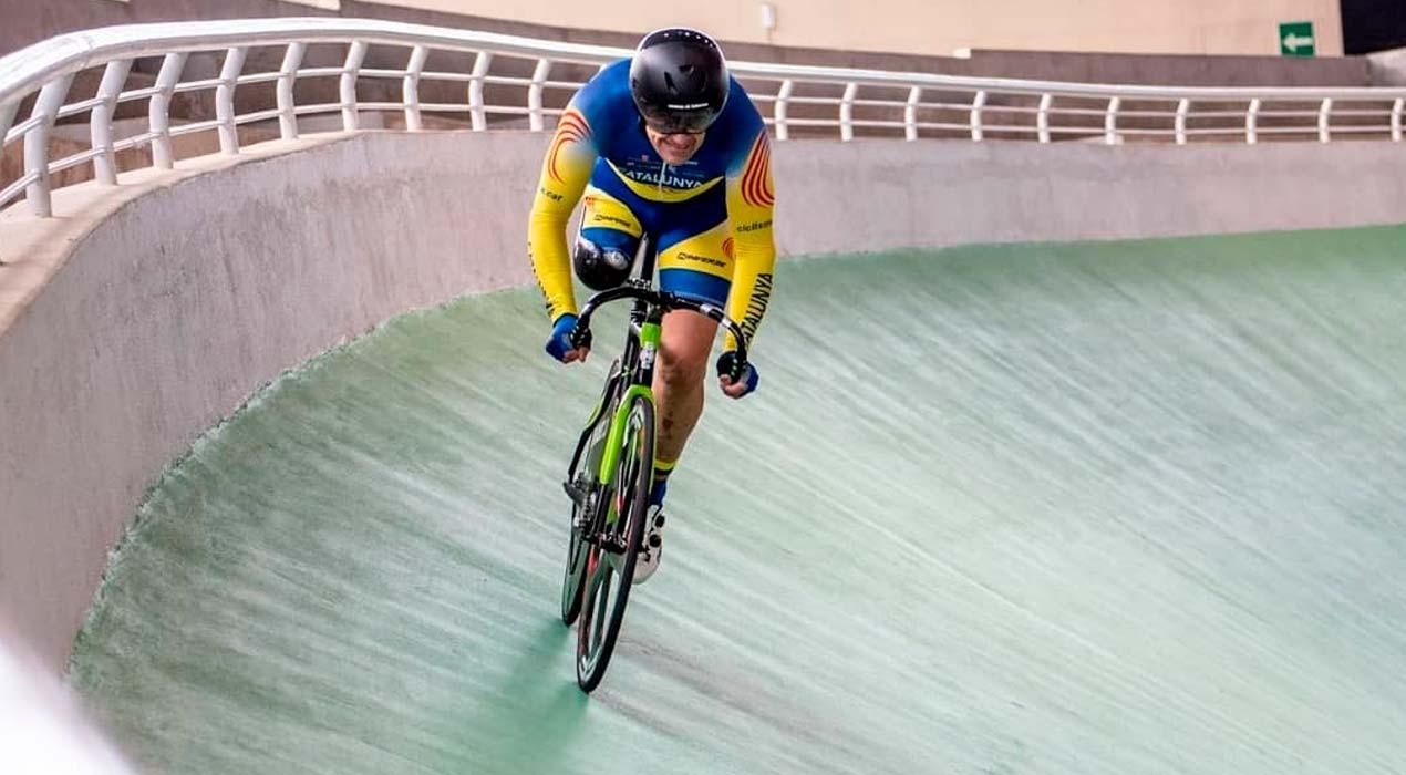 Pòquer de medalles del berguedà Xavier Caballol als campionats d'Espanya de ciclisme adaptat