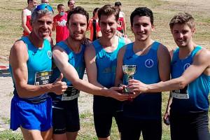 L'equip masculí absolut del JAB de Berga es proclama subcampió de Catalunya de cros curt