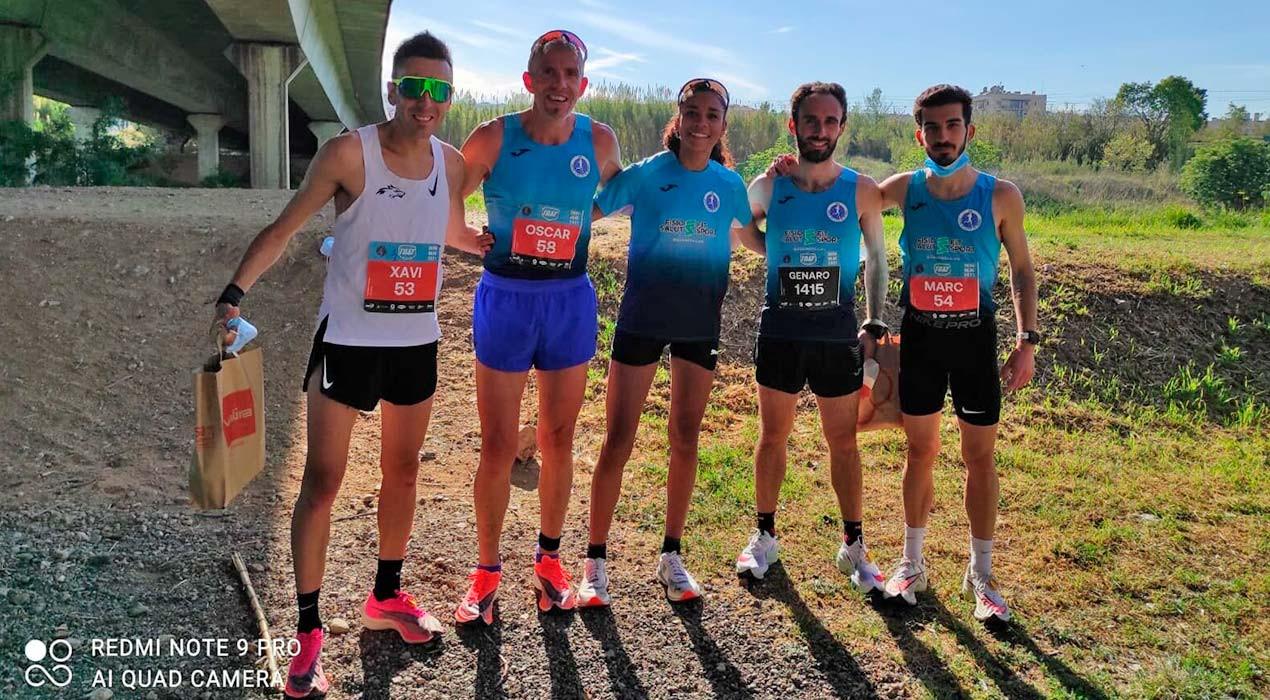 Xavi Tomasa aconsegueix la millor marca dels últims 30 anys d'un berguedà en una cursa de 10 quilòmetres