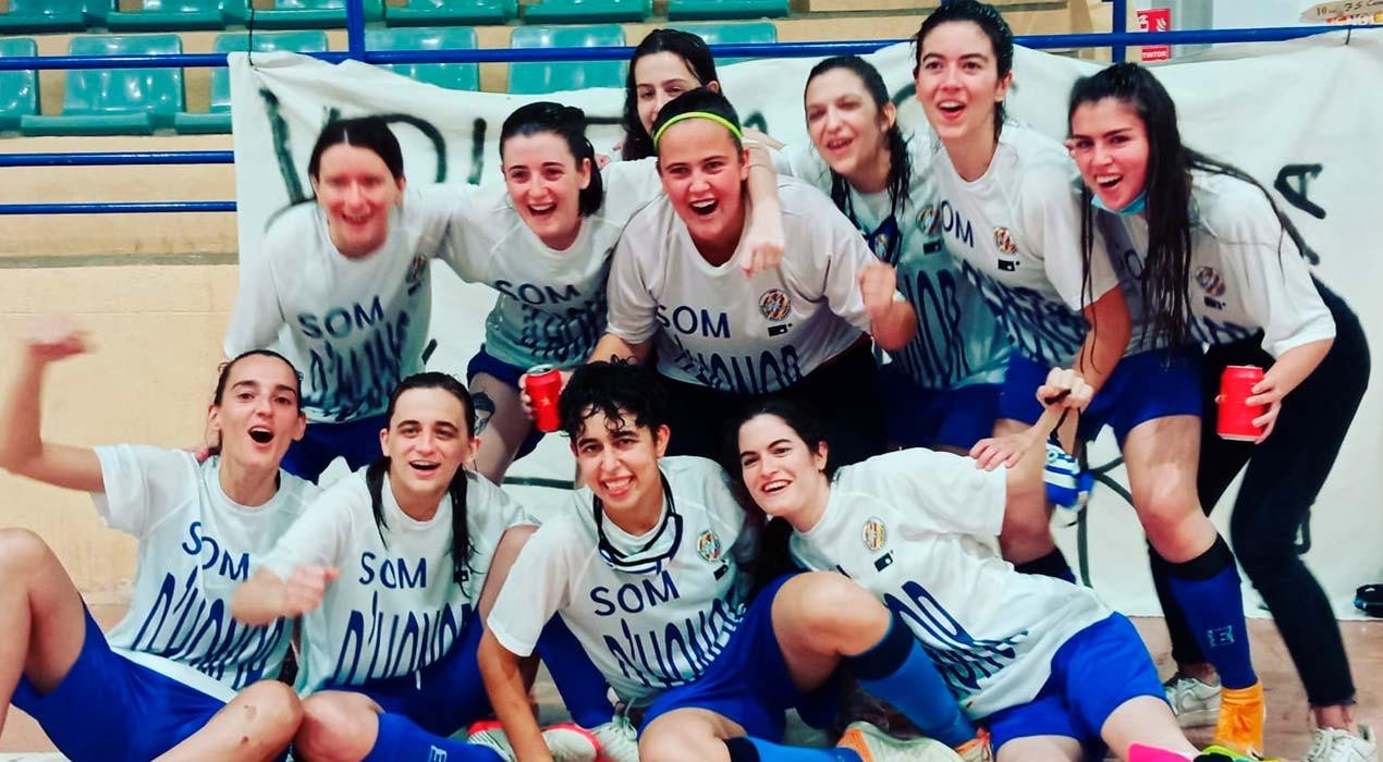 El sènior femení del FS Casserres aconsegueix un ascens històric a Divisió d'Honor