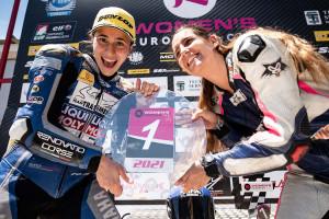 La gironellenca Sara Sànchez, a dues carreres de proclamar-se campiona d'Europa de motociclisme
