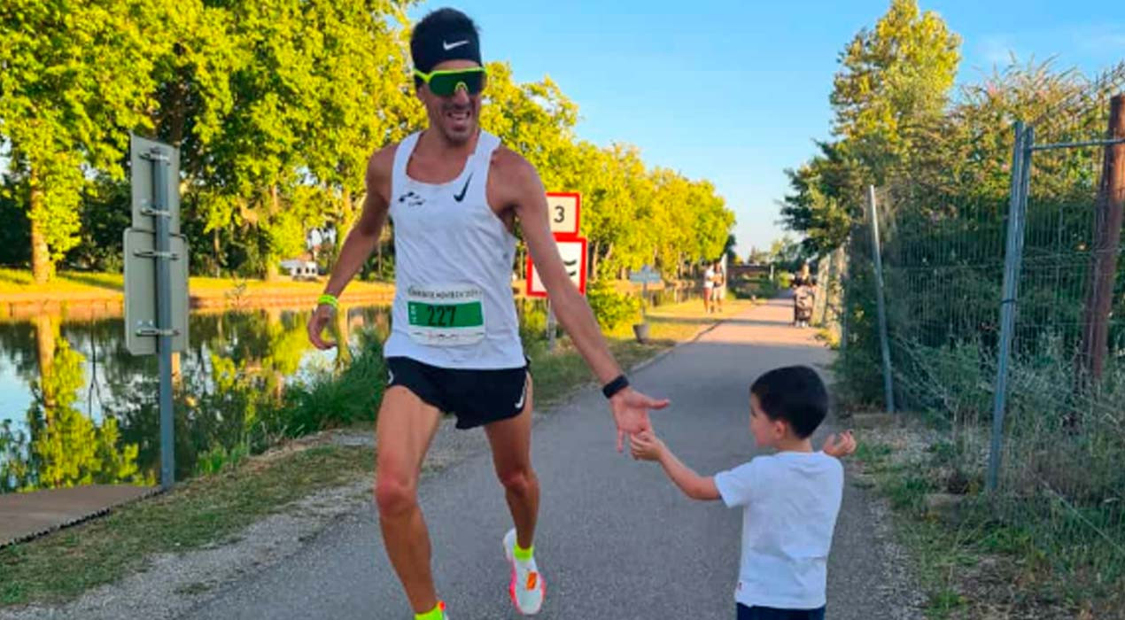 Xavi Tomasa bat el rècord històric de la prova de 10 quilòmetres de Montech, a França